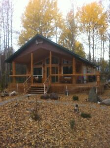 Cabin and 80 acres North of Athabasca