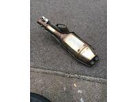 Honda cbr fireblade exhaust