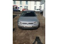 VW GOLF V6 4MOTION Stunnng condition