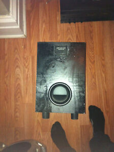 Speakers and Subwoofer - need to sell quick. Best offer