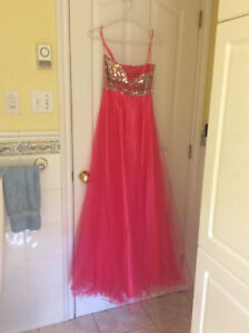 Prom dress with lots of bling