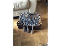 28 stainless steel candle holders