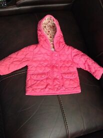 Girls 3-6 month jacket and hoody