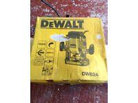 DeWalt router as new