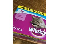 Whiskas Cat Food Pouches - 35 pack