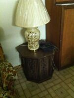 Large Ivory Table Lamp