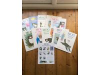 Set of 10 Mog the cat books .