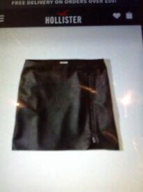 Hollister black mini skirt NEW