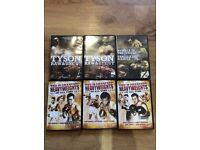 Heavy weight boxing DVDs