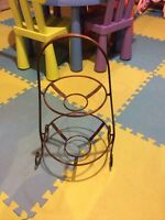 Home Decor/Kitchen Metal Plates or Fruits, etc holder