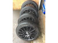 """16"""" Fox Racing Alloys with tyres"""