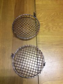 For sale 2 ford Escort head light grills