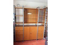 Ikea Beech Wall Unit