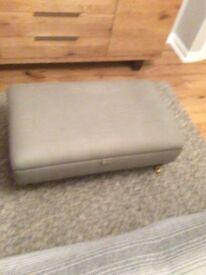 Marks & Spencer storage style footstool