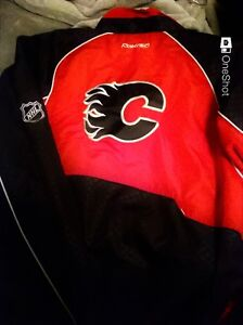 Used Once , Calgary Flames Jersey(CCM)
