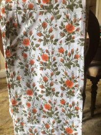 Handmade curtains 110cm wide per curtain