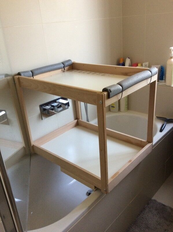 Ikea Sniglar Baby Changing Table Modified To Go On Top