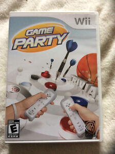Nintendo Wii GAME PARTY with case and manual