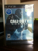 COD GHOSTS HARDENED EDITION for PS3 - BNIB