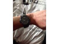Emporio Armani AR1451 Genuine New With Tags RRP £499 Black Ceramica Mens Watch