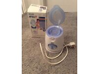 2 x Avent bottle warmers for sale collection London NW4 or WC2a