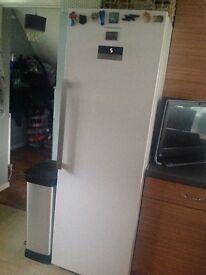 Tall grundig 1.8m high fridge