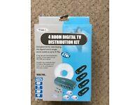 SLx 4 room digital TVs distribution kit new in box