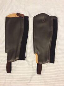 Leather Half Chaps.