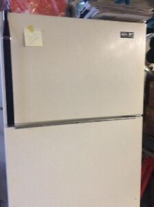 ALMOND COLORED INGLES FRIDGE - $85 (SURREY