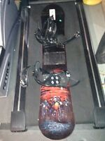 Lamar cruiser snowboard and bindings set