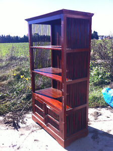 INDONESIAN SHELVING UNIT FOR SALE London Ontario image 3
