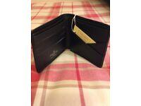 Louis Vuitton slim leather wallet