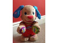 Fisher Price Musical, singing, dancing Puppy.