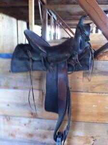 Antique saddles