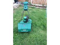 Qualcast self drive lawn mower
