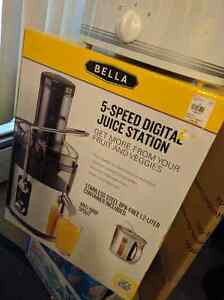 **BRAND NEW** Bella 5 speed juicer