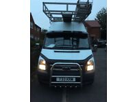 Ford transit 2,4 rear wheel drive 8 seater crew cab