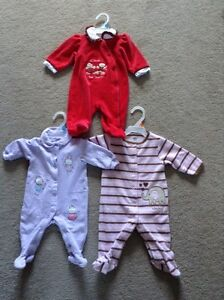 3 Brand Name Sleepers, size 3 months - $10
