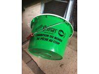 Sensas bait bucket with bait packs