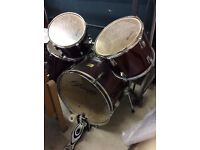 Stagg Maroon Red drum kit
