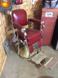Antique 50s Barber Chair
