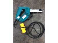 Makita collated screw gun 110v (can deliver)