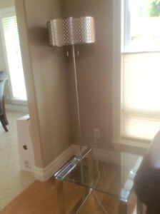 Floor Lamp and side tables