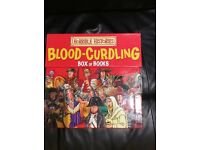 Brand new! Horrible history blood-curdling box of books only (£30):