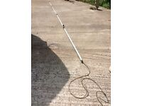 20ft extendable window cleaner pole can post
