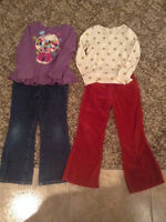 Girls Size 6-7 (Gymboree-Carters-Children`s Place) Fall Clothing