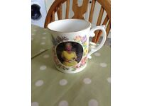 The Queen Mother Bone China Cup