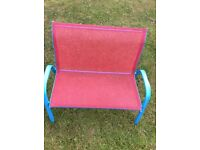 Childs double garden seating