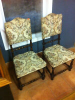 Antique chairs price is per chair