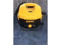 Dewalt wet and Dry vacuum cleaner 240v and 18v